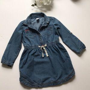 Carter's Little Girl Denim Dress
